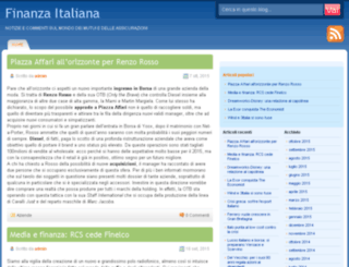 finanzaitaliana.it screenshot