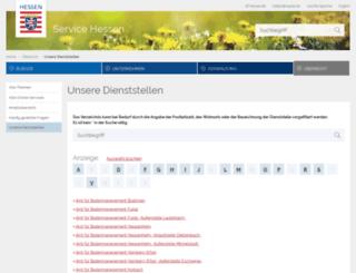 finanzamt-offenbach.hessen.de screenshot