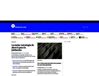 finanzas.com screenshot