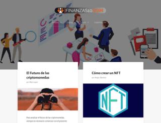 finanzas10.com screenshot