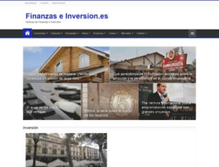 finanzaseinversion.es screenshot