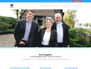 finanzberatung-frommholz.de screenshot