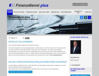 finanzdienst-plus.de screenshot