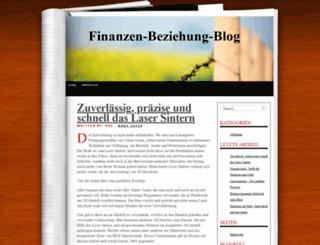 finanzen-beziehung-blog.de screenshot