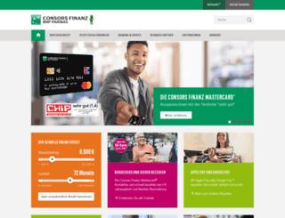 finanzierung.commerzfinanz.com screenshot