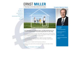finanzierungsberatung-miller.de screenshot