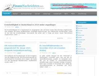finanznachrichten.info screenshot