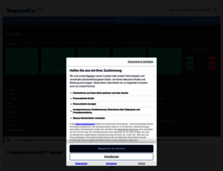 finanztreff.de screenshot