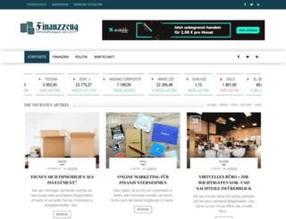 finanzzeug.de screenshot