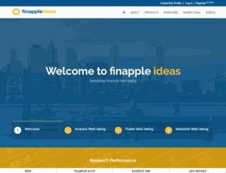 finappleideas.com screenshot