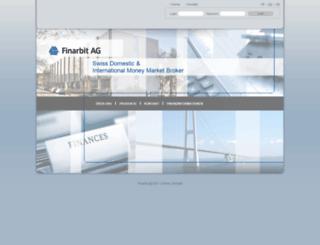 finarbit.ch screenshot