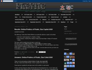 finatictheblog.blogspot.in screenshot