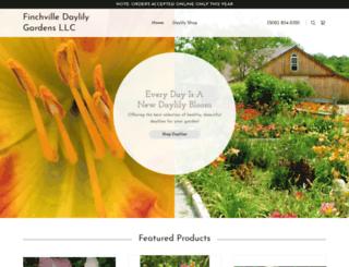 finchvilledaylily.com screenshot