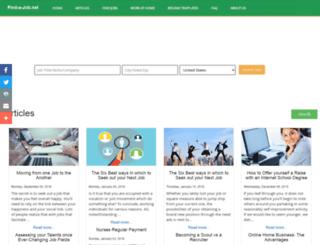 find-a-job.net screenshot
