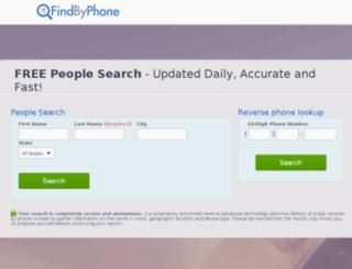 find-by-phone.com screenshot