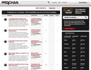 find-married-black-dating-women.prochan.com screenshot