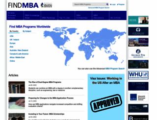 find-mba.com screenshot