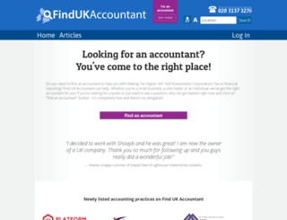 find-uk-accountant.co.uk screenshot