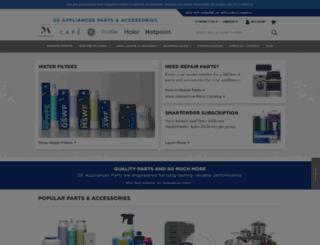 find.geapplianceparts.com screenshot