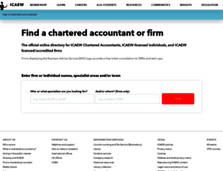 find.icaew.com screenshot