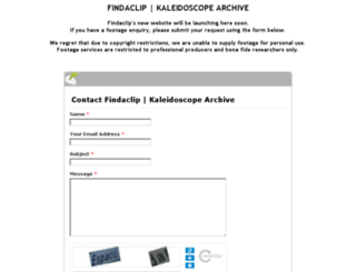 findaclip.co.uk screenshot