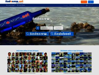 findacrew.net screenshot