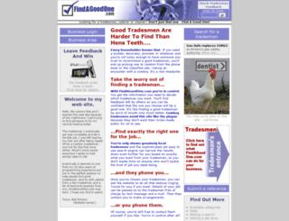 findagoodone.com screenshot