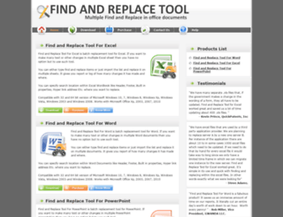 findandreplacetool.com screenshot