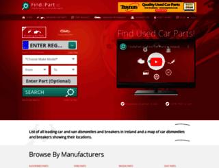 findapart.ie screenshot