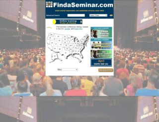 findaseminar.com screenshot