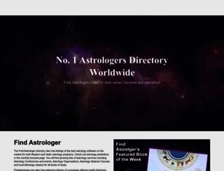findastrologer.com screenshot