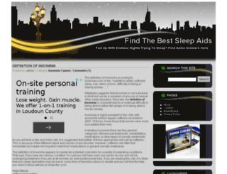 findbestsleepaids.com screenshot
