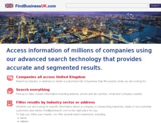 findbusinessuk.com screenshot