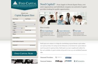 findcapital.com screenshot