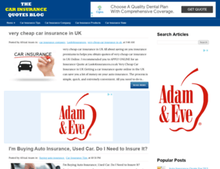 findcarinsurancequotes.blogspot.com screenshot