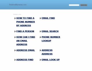 findemailbyname.com screenshot