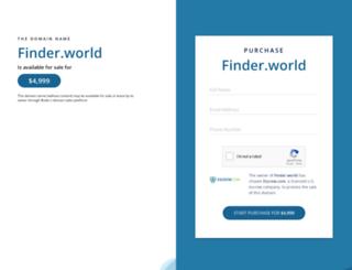 finder.world screenshot