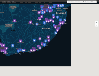 findfreewifi.co.za screenshot