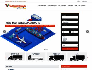 findfreightloads.com screenshot