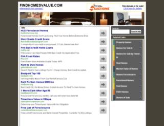findhomesvalue.com screenshot
