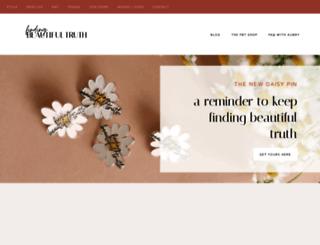 findingbeautifultruth.com screenshot