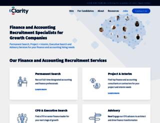 findingclarity.ca screenshot