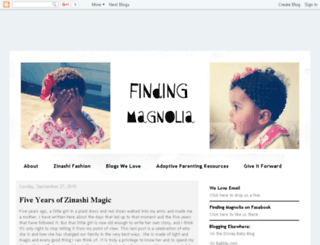 findingmagnolia.com screenshot