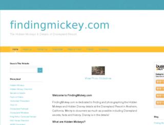 findingmickey.squarespace.com screenshot