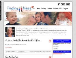 findingninee.com screenshot