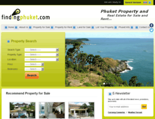 findingphuket.com screenshot