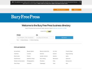 findit.buryfreepress.co.uk screenshot
