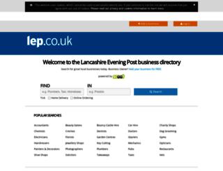 findit.lep.co.uk screenshot