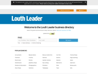 findit.louthleader.co.uk screenshot