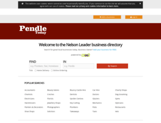 findit.pendletoday.co.uk screenshot